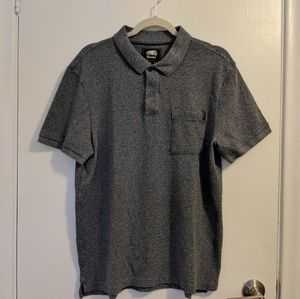 Roots Mens Gray Polo